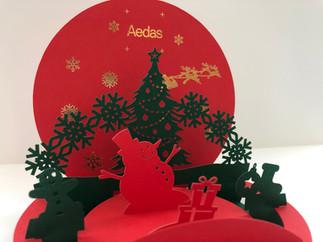 Pop-up Christmas Card