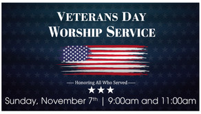 Veteran's Day Worship Service