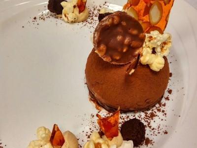 cheese cake chocolat caramel