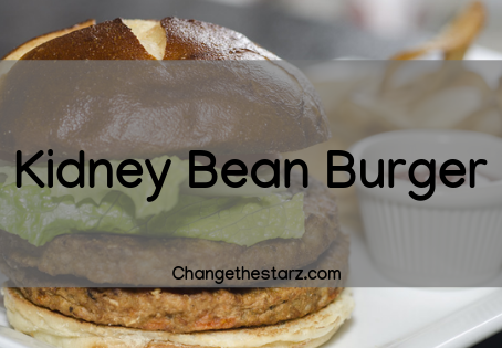 Kidney Bean Burger