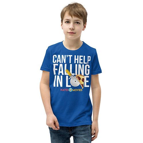 Can't Help Falling - NatesMovies - Youth Short Sleeve T-Shirt