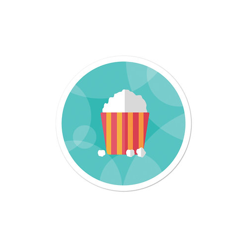 NatesMovies Bubble-free stickers