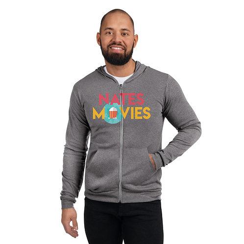 NatesMovies Unisex Zip-Up Hoodie