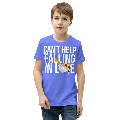 Can't Help Falling in Love Youth Unisex Short Sleeve T-Shirt