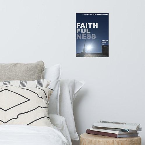 """Faithfulness"" Official Poster"