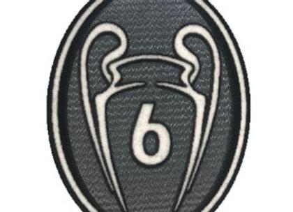 Champions League 6 Winners