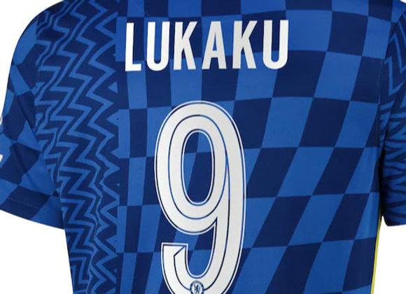 Club or Custom Font Name & Number