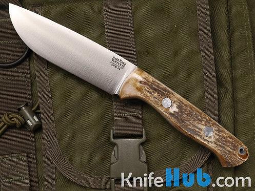 Bark River Knives Fox River EXT-2 CPM 3V Elk #3 Black Liner