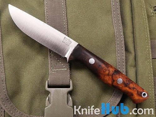 Bark River Knives Mini Gunny Rampless S45VN Desert Ironwood Burl #2