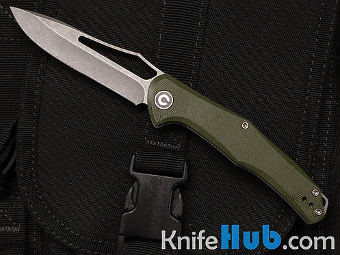 Civivi Fracture OD Green G10 Handle Gray 8Cr14MoV DP Slip Joint C2009A