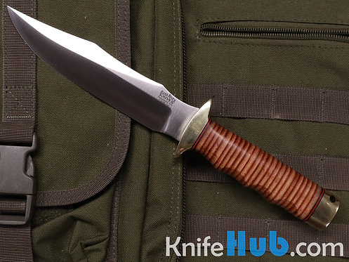 Bark River Knives MACV-SOG CPM 3V Stacked Leather