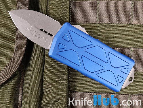 Microtech Exocet Blue Apocalyptic Standard 157-10 APBL