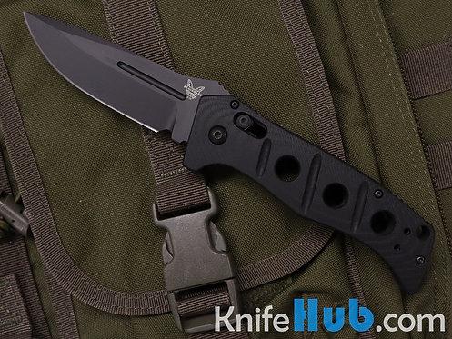 Benchmade Auto Adamas D2 Axis Lock Automatic Knife Black Blade 2750BK