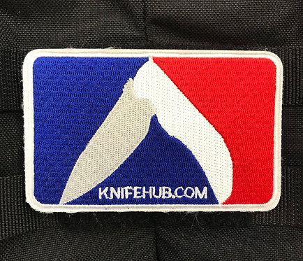 KnifeHub Major League Embroidered Velcro Patch