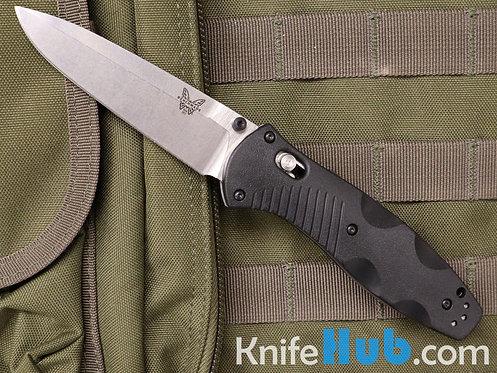 Benchmade Barrage Black Valox Handle Satin 154CM Blade 580