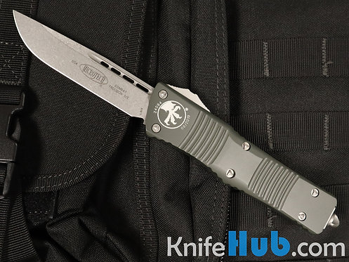 Microtech Combat Troodon S/E OD Green Stonewash Standard 143-10 OD