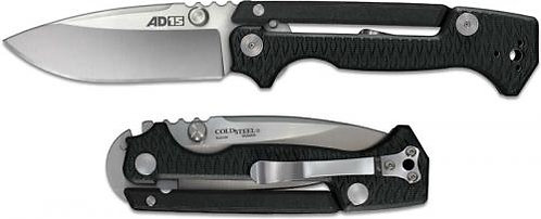 Cold Steel AD-15 Black Scorpion Lock Satin S35VN Blade