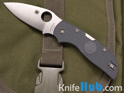 Spyderco Chaparral FRN CTS XHP Satin Blade Back Lock Gray FRN C152PGY