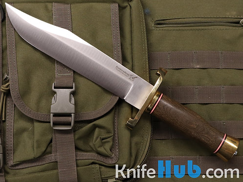 BlackJack Knives Model 12-9 Green Canvas Micarta A2 Satin Blade