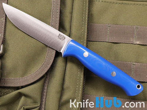 Bark River Knives Gunny Hunter CPM 3V Blue Glow G-10