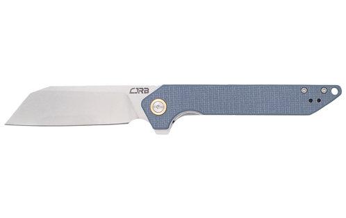 CJRB Rampart Blue G10 Scales Stonewash D2 Blade 1907 GYF