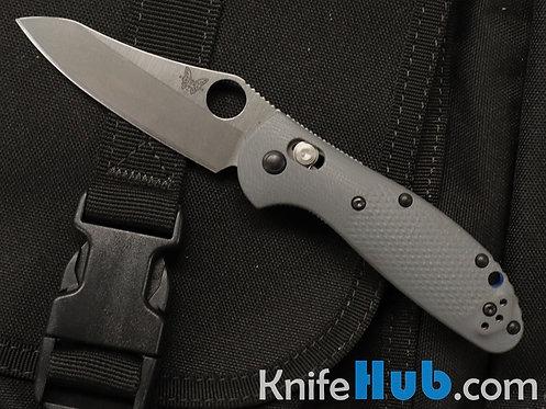 Benchmade Mini Griptilian Gray G10 Scales Satin CPM 20CV Blade 555-1
