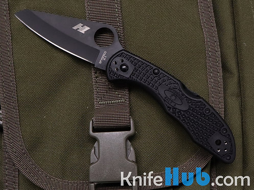 Spyderco Salt Black Blade