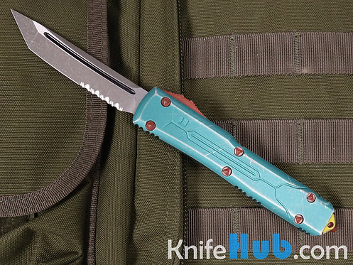 Microtech Ultratech T/E Bounty Hunter Partially Serrated 123-11 BH