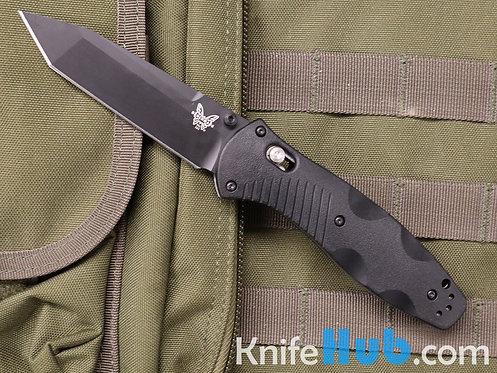Benchmade Barrage Black Tanto CPM S30V Blade Black Handle 583BK