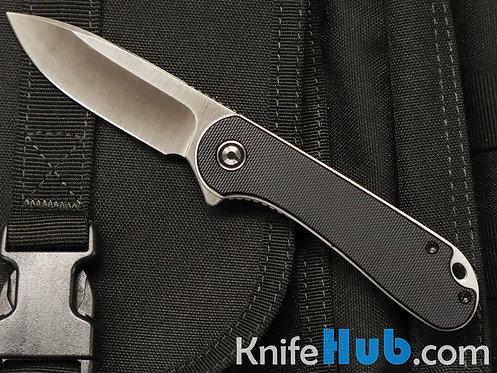 Civivi Knives Elementum Linerlock Black G10 Satin D2 Blade907A