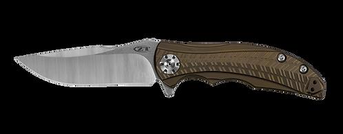 ZT RJ Martin 0609 CPM 20CV Blade Bronze Titanium Handle Frame Lock