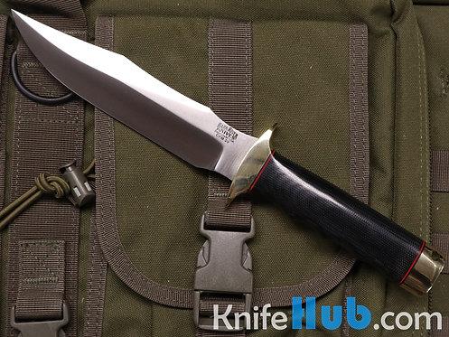 Bark River Knives MACV-SOG CPM 3V Black Canvas Micarta