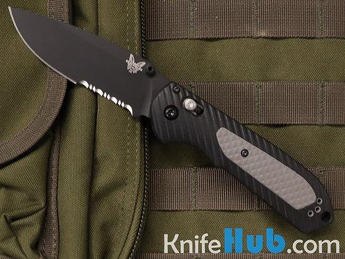 Benchmade Freek Versaflex Handle Material Black S30V Serrated Blade 560SBK