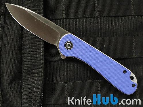 Civivi Knives Elementum C907F Blue G10 Handle D2 Satin Blade Folding Knife