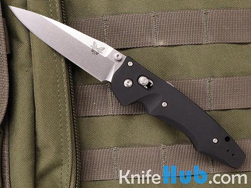 Benchmade Emmisarry 3.5 CPM S30V Satin Blade Black Aluminum Handle 477
