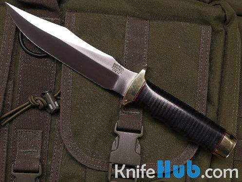Bark River Knives MACV-SOG CPM 3V Black Stacked Leather