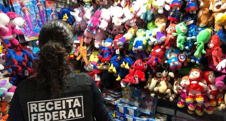 Receita Federal inicia a operação Brinquedo Assassino na região central de São Paulo