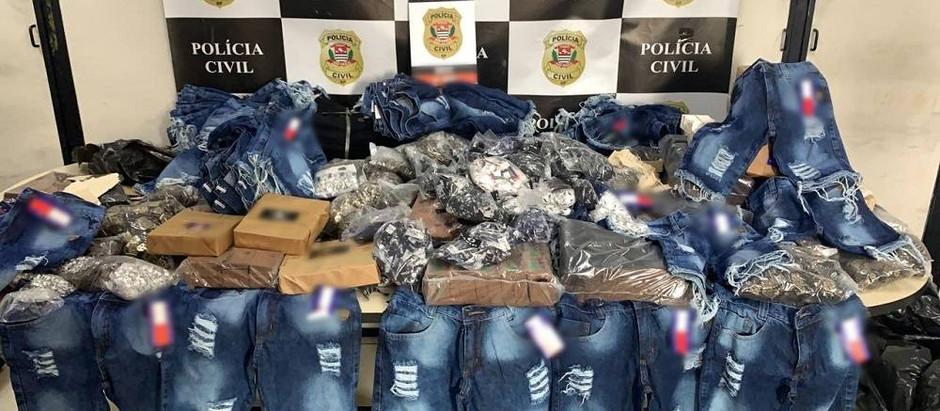 Polícia Civil apreende mais de 75 mil produtos falsificados no Brás