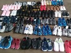Receita Federal em Araraquara realiza operação de combate à venda de calçados falsificados