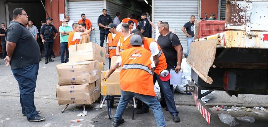 Polícia Civil apreende mais de R$ 50 milhões em produtos falsificados