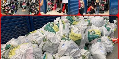 Polícia Civil realiza operação contra a pirataria e apreende 13 toneladas de objetos em SBC