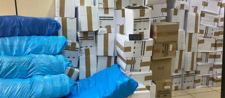 PRF apreende mais de 4 mil produtos falsificados na Washington Luiz