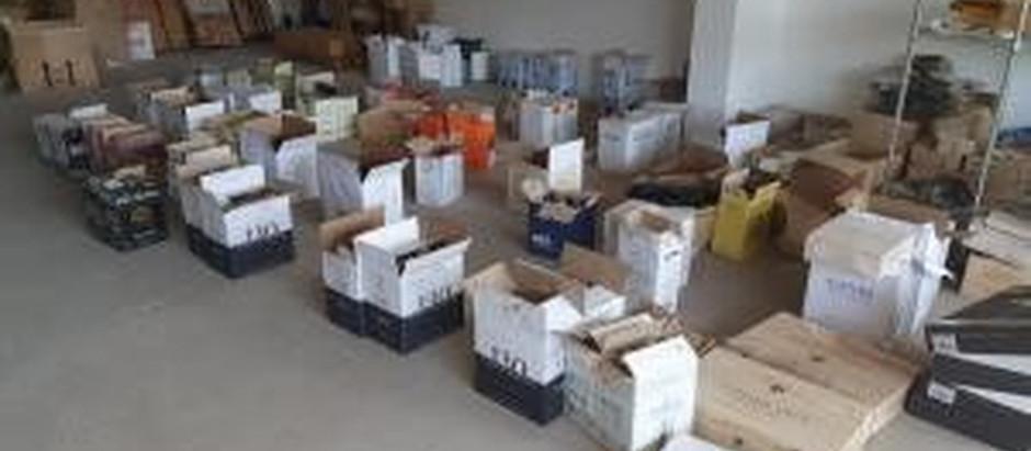 Centenas de garrafas de vinhos e espumantes são apreendidas no ES