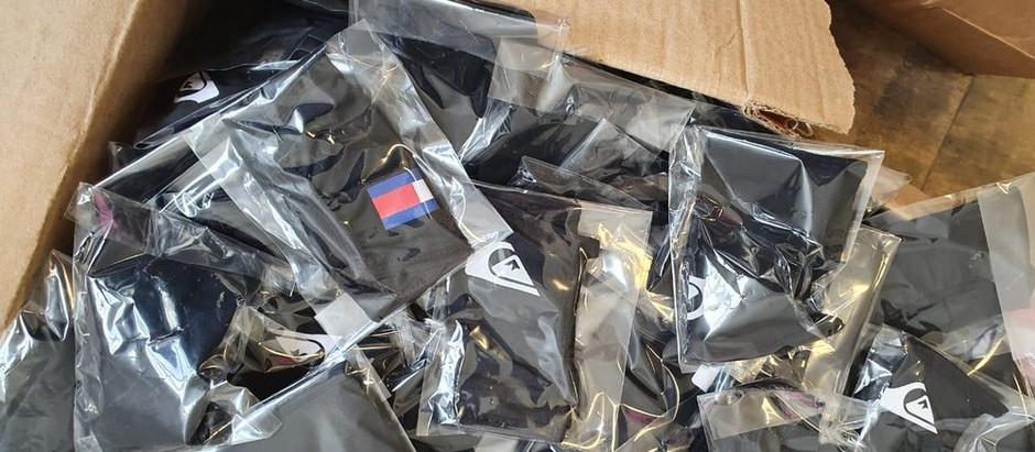 Polícia Civil apreende máscaras falsificadas em SP
