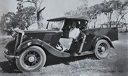 Mrs Beech in car.jpg