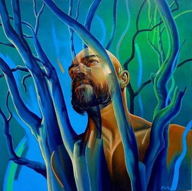Alan Morrison Pagan Man Acrylic 2016.JPG