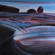 Giraween Boulders Acrylic Mixed Media 20
