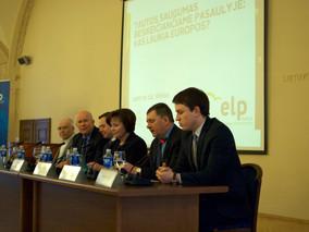 Konferencijos apžvalga: kad valstybės kūryba nesustotų