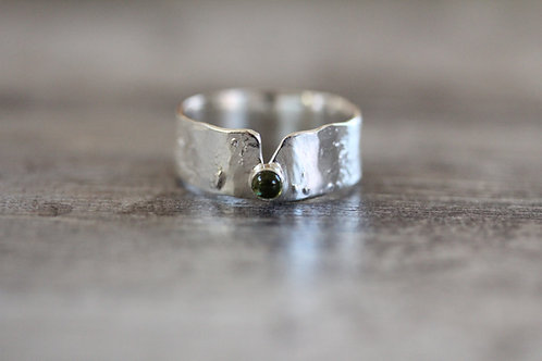 Currents Tourmaline Ring in Green