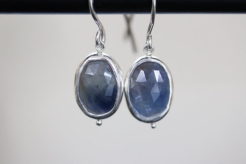 Grains Sapphire Earrings